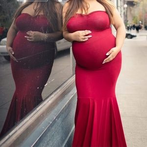 Maternity shoot dress
